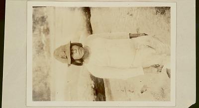 Young Choco Man at River's Edge 1923