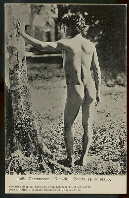 Nepotio, Young Man, 20 Years Old (Back View) 1904