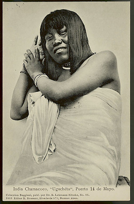 Portrait of Ugucheta, Woman, 25 Years Old, in Costume and With Bead Necklaces and Bracelets 1904