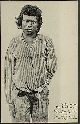 Portrait of Young Man from Rio San Lorenzo 1925