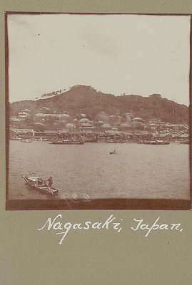 View of City and Boats on Water n.d