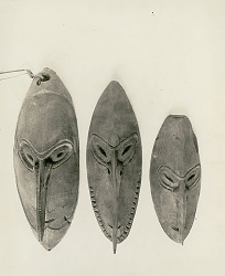 New Guinea mask n.d
