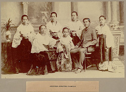 Portrait of Family Group 1900