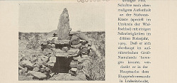 Hyena Trap Made of Stones (North Light from Chamis ?) 1903