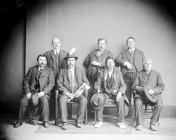 Seven American Indian Men n.d