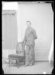 Luther Dah-Hah ?, Carlisle Student 1879