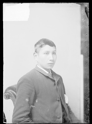Portrait of Chief Big Bow, Student ? OCT 1888