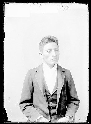 Portrait of Channcey T. Robe, Student 1879