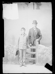 Moses Culbertson and C. Bread, Carlisle Students OCT 1889