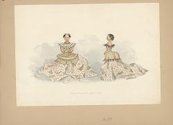 Samoan School Girls - Festival Dress 1873 Painting