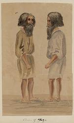 """""""Aino of Yezo"""" 1853 Drawing/Painting"""
