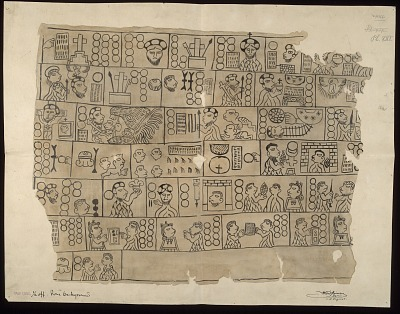 Mexican Painting-Humboldt Fragment XVI n.d. Drawing