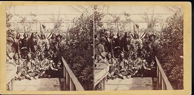 Cheyenne and Kiowa delegation March 27, 1863