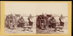 """""""Group of Indians on the Laramie River"""""""