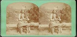 """Thunder Hawk, Sioux chief"""