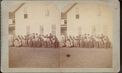 """Indian children at Quapaw Mission, Indian Territory"""