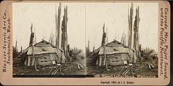 """""""Siwash Indian shack, Washington"""""""