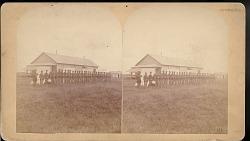 """Platoon of Company K, nineteeth United States Infantry"""