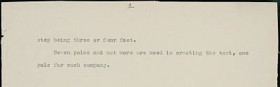 Daniel Little Chief drawing of Cheyenne sun dance medicine tent, with descriptive text by Albert Gatschet, 1891 February