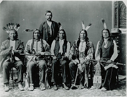 Delegation From Pine Ridge. 1880