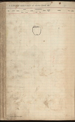 Anonymous Kiowa drawing of circle with markings, ca. 1884-1897