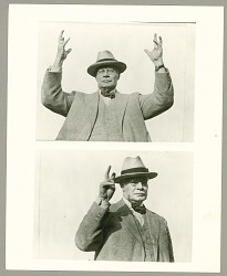 General Hugh L. Scott Gesturing in Sign Language n.d