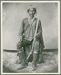 """""""Barboncito, Chief of the Navajo Tribe in New Mexico"""" before 1870"""