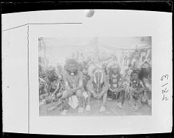 Group of Crow Indians