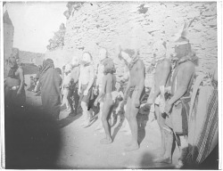 Group of masked Indians