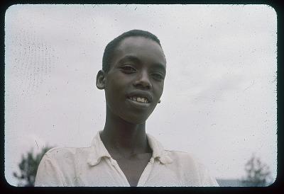 Young Tutsi - portrait, circa 1957