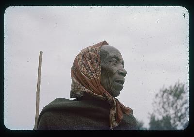 Old Mubamba - portrait, circa 1957