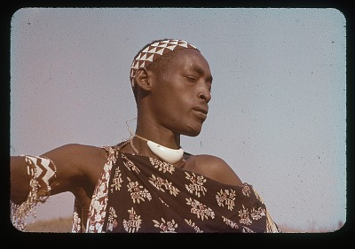 Kagunya in umushingantahe clothes, circa 1956