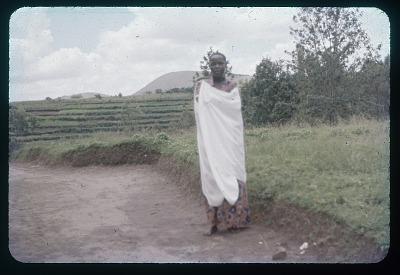 Mututsi girl, circa 1957