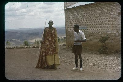 Ndiruhangura and Datus, both BaTutsi, circa 1956