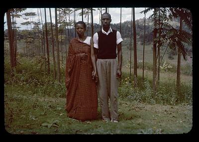 Christiana and Canisio, circa 1956