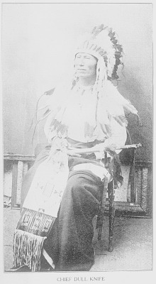 [Portrait of Chief Dull Knife, Tah-me-la-pash-me]
