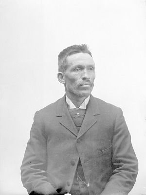 Portrait (Front) of Andali, Called Andres Martinez 1894
