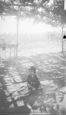 Boy under Summer Arbor 1892