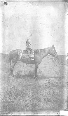 Boy, Three Years Old, on Horseback 1892