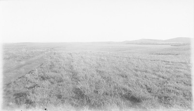 Distant View of Fort SIll and Medicine Bluff 1893