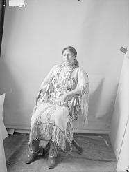 [Tonhadal or Broken Leg. Known as Mrs. Laura Pedrick.] 1898