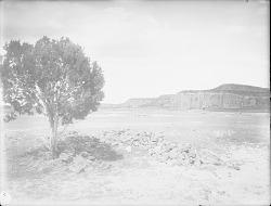Ruins at Cebollita near mesa from south and at east end 1899