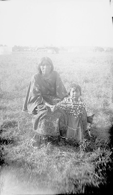 Wife of Majoti and Child in Native Dress 1891