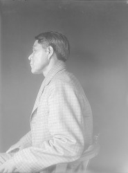 Portrait (Profile) of Mack-La-Va (Many Feet), Called George Dickens JUN 1911