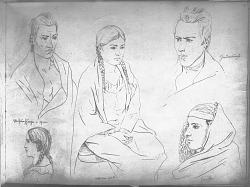 Drawings by R. F. Kurz Of 1851