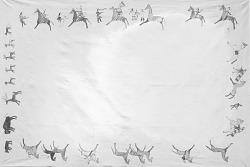 Drawing by Swift Dog of War Scene 1911