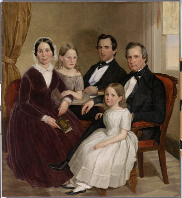 William Jervis Hough and Family