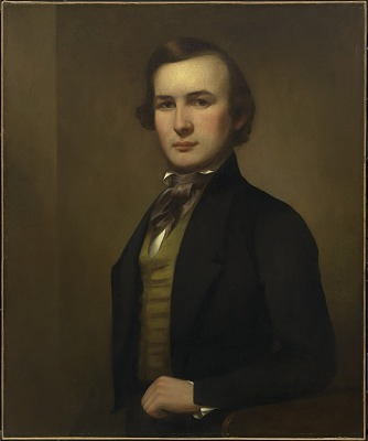 George Henry Durrie Self-Portrait