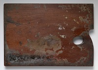 Image of Thomas Sully's palette