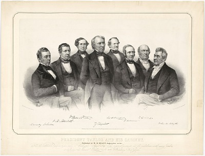 Zachary Taylor and his Cabinet